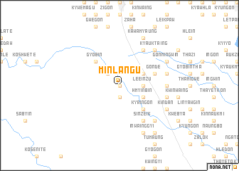 map of Minlangu