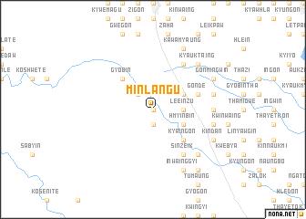 map of Minlangu