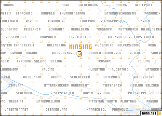 map of Minsing