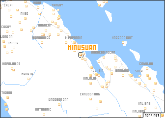 map of Minusuan