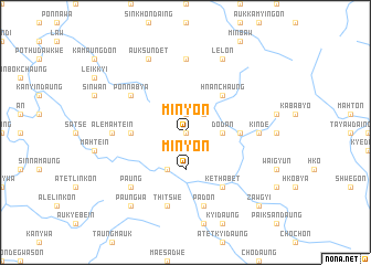 map of Minyon