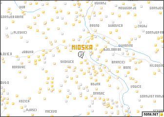 map of Mioska