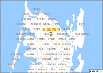 map of Miparani