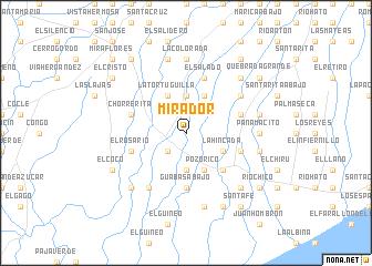 map of Mirador