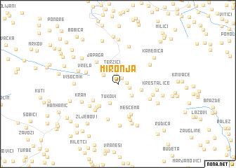 map of Mironja