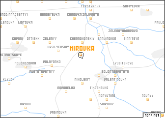 map of Mirovka