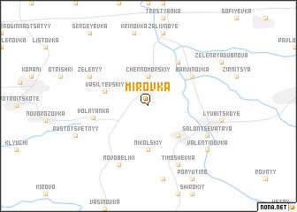 map of Mirovka
