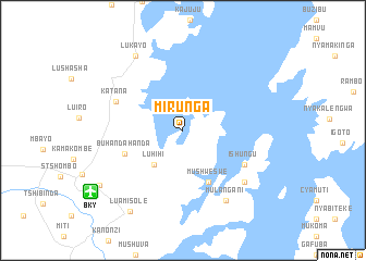 map of Mirunga