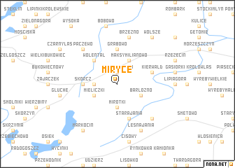 map of Miryce