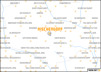 map of Mischendorf