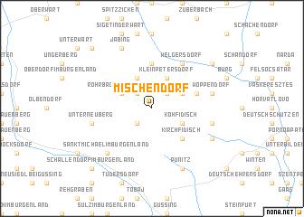 map of Mischendorf