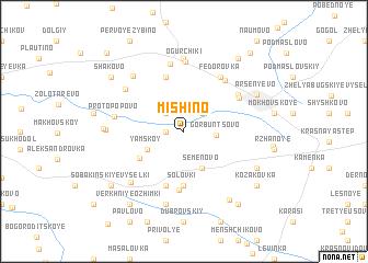 map of Mishino