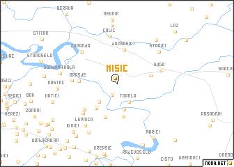 map of (( Misić ))