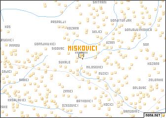 map of Miškovići
