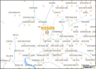 map of Missirá