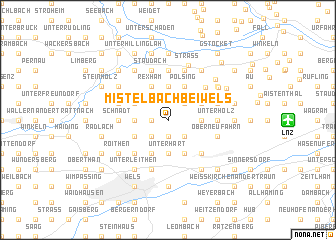 map of Mistelbach bei Wels