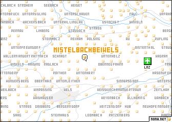 map of Mistelbach bei Wels