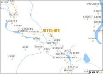 map of Mitchine