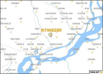 map of Mithwegan