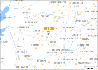 map of Mitón
