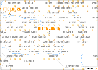 map of Mittelberg