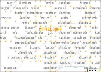 map of Mitteldorf