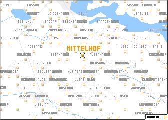 map of Mittelhof