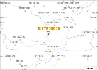 map of Mitterbach