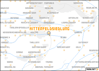 map of Mitterfeld Siedlung