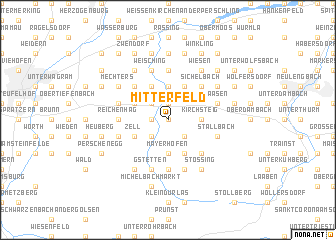 map of Mitterfeld