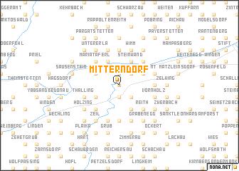 map of Mitterndorf