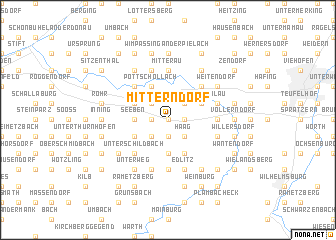 map of Mitterndorf