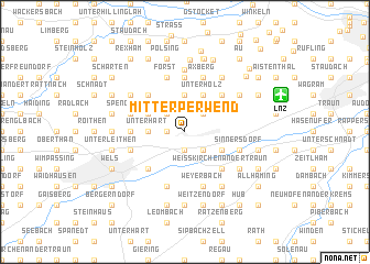 map of Mitterperwend