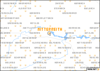 map of Mitterreith