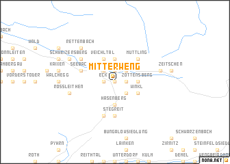 map of Mitterweng