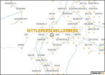 map of Mittlerer Schellenberg