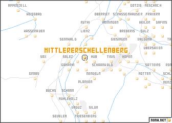 map of Mittlerer Schellenberg