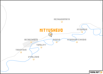 map of Mityushevo