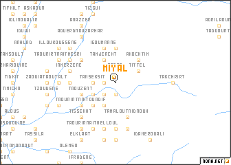 map of Miyal