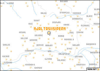 map of Mjaltasi i Sipërm