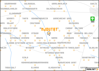map of Mjoutat