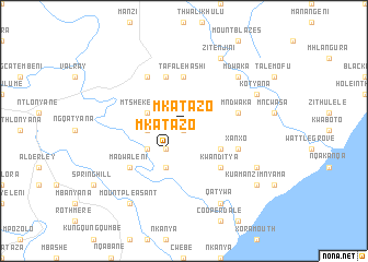 map of Mkatazo