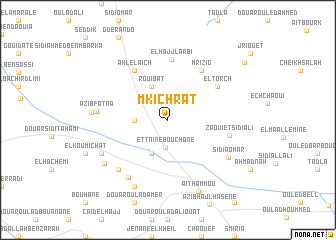 map of Mkichrat