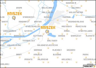 map of Mniszek