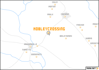 map of Mobley Crossing