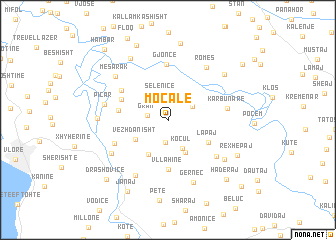map of Moçale