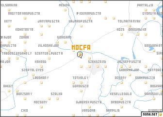 map of Mocfa