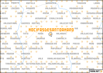 map of Mocifas de Santo Amaro