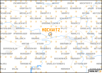 map of Möckwitz