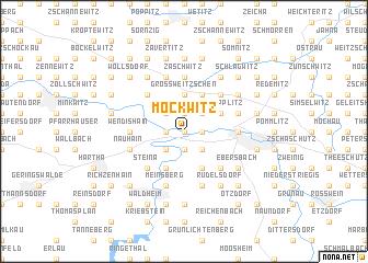 map of Möckwitz